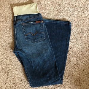 7 for All Mankind Maternity Jeans size 28